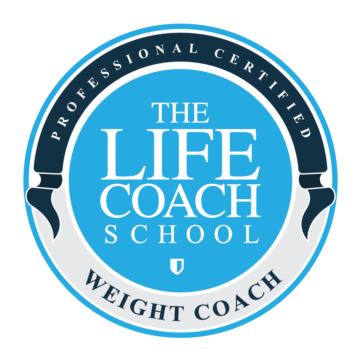 Life Coach Weight Coach Logo