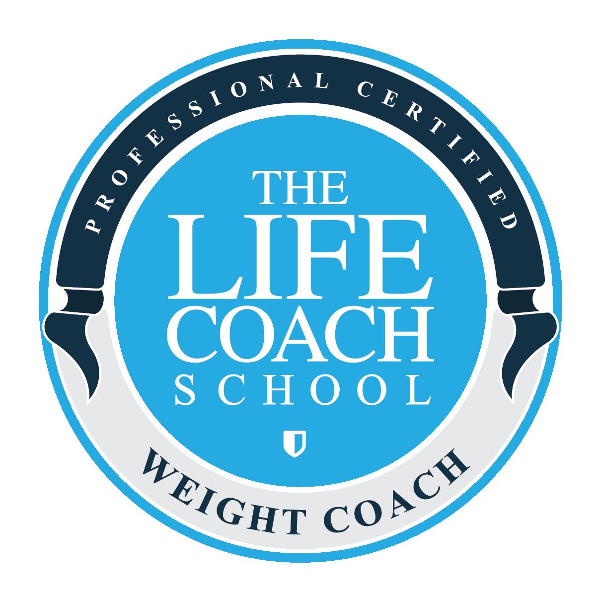 Life Coach Weight Coach Logo